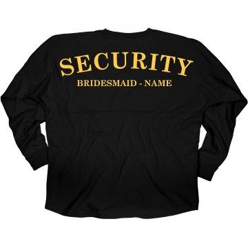 Bride's Security