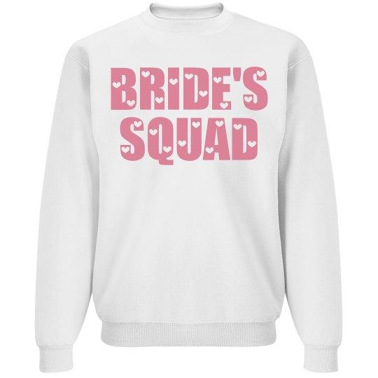 Bride's squad