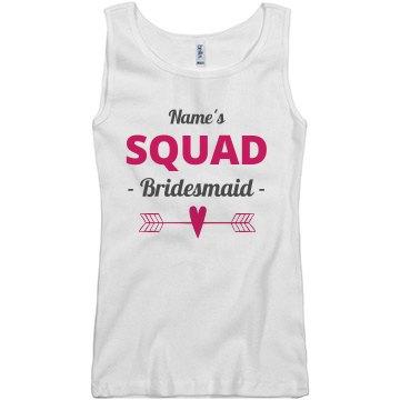 Bride's Squad Heart