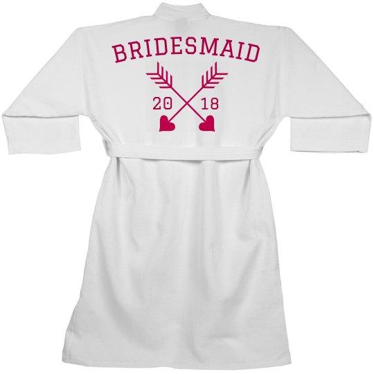 Bridesmaid Bridal Custom Robe