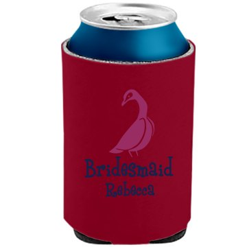 Bridesmaid Can Koozie