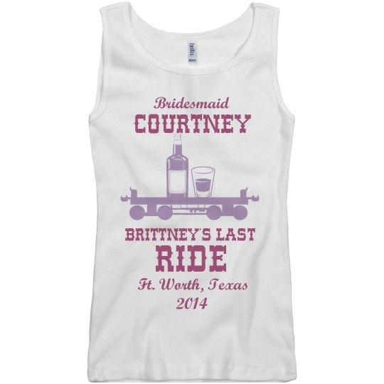Bridesmaid Courtney