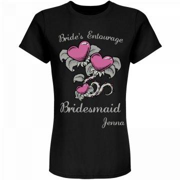 Bridesmaid Entourage Tee