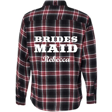 Bridesmaid Flannel Shirt