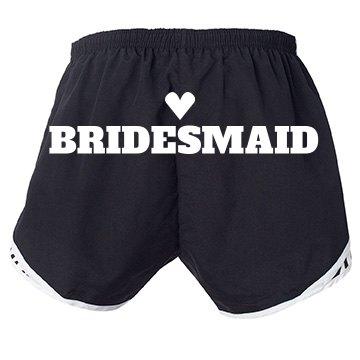 Bridesmaid Heart On Booty