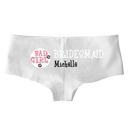 Bridesmaid Hot Shorts
