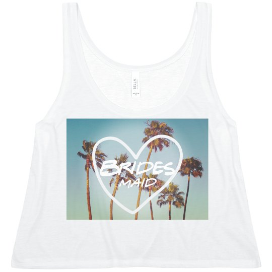 Bridesmaid Palm Trees