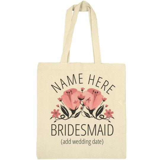 Bridesmaid Proposal Custom Tote
