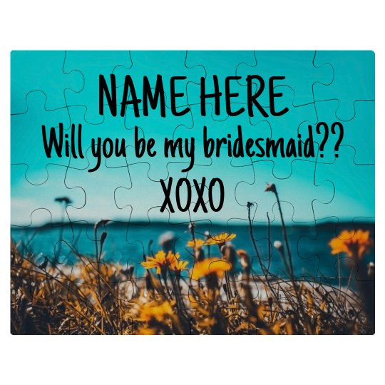 Bridesmaid Proposal Unique Gift