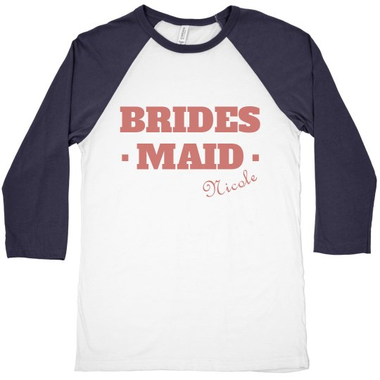 Bridesmaid Raglan Tee