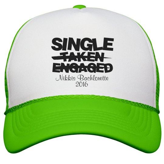 BRIDESMAID SINGLE HAT 1
