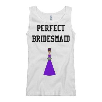 Bridesmaid Tank
