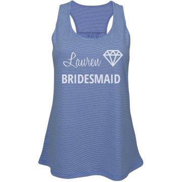 Bridesmaid Tank Top