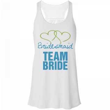 Bridesmaid team bride