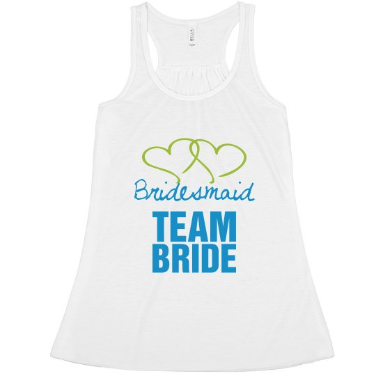 Bridesmaid team bride