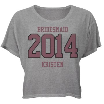 Bridesmaid Team Tee