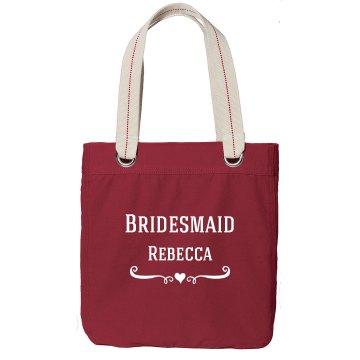 Bridesmaid Totebag