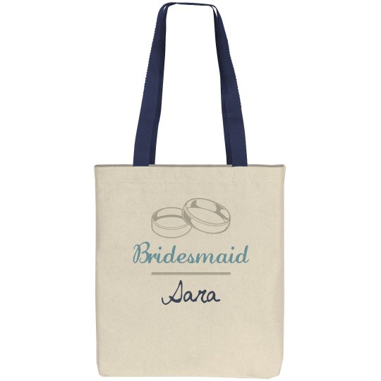 Bridesmaid's Name