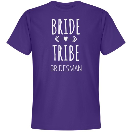 Bridesman Matching Group Shirts