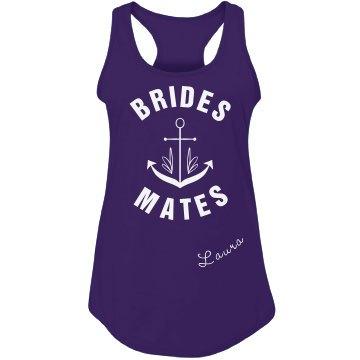 Bridesmate Anchor Nautical Top