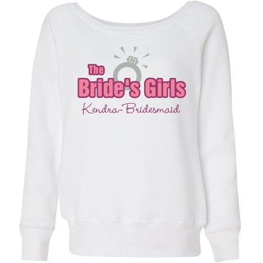 Brides's Girls Sweatshirt