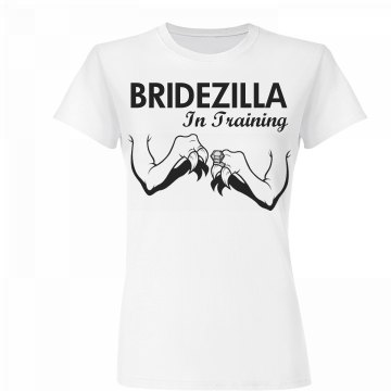 Bridezilla In Training