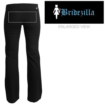 Bridezilla Yoga Pants