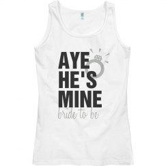 Aye He's Mine Bride