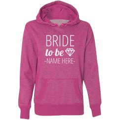Bride to Be Diamond Name Here