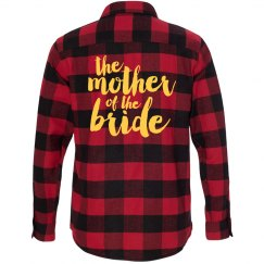 Mother of Bride Flannel Shirts