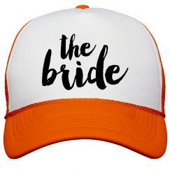 The Bride Typography Caps