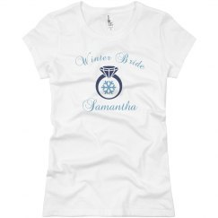 Winter Bride Tee