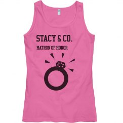 STACY bridal party shirts