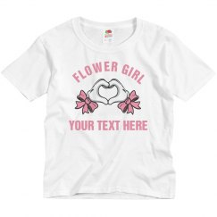 Glove Heart Hands Cute Flower Girl Gift