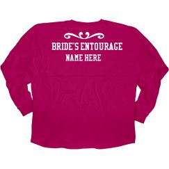 Bride's Entourage Jersey