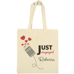 Just Engaged Tote Bag