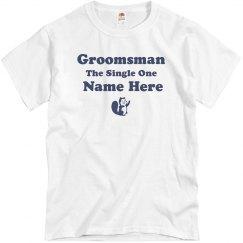 The Single Groomsman