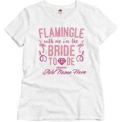 Cute Let's Flamingle Tonight