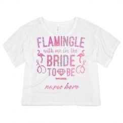 Glitter Flamingle Bride To Be