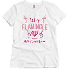 Custom Flamingle Bachelorette Party
