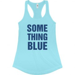 Something Blue Text