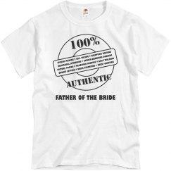Authentic Father OT Bride