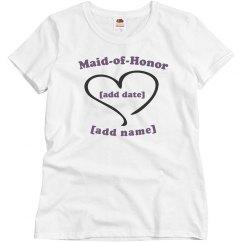 Entourage Maid of Honor