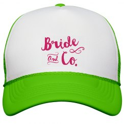 Bride and Co. Trucker Hat