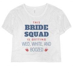 Bride Squad Getting Boozed