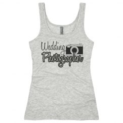Wedding Photographer Tank