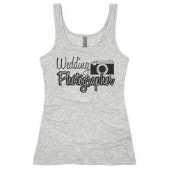 Wedding Photographer Tank