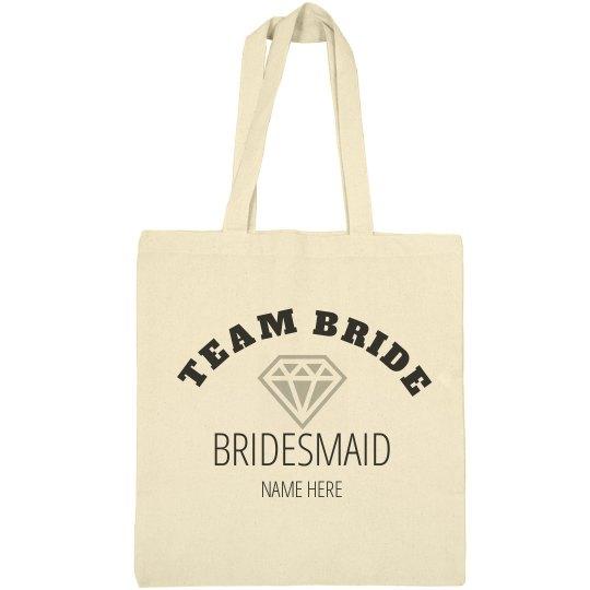 42cd40a6d0a2 Team Bride Tote Bag