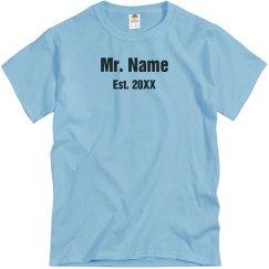 New Mr. Name Here