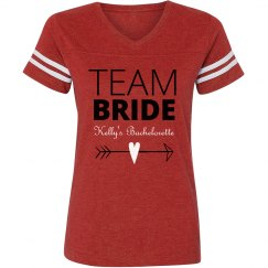Team Bride Heart Arrow